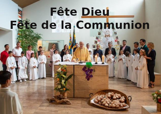 Fête-Dieu-Communion