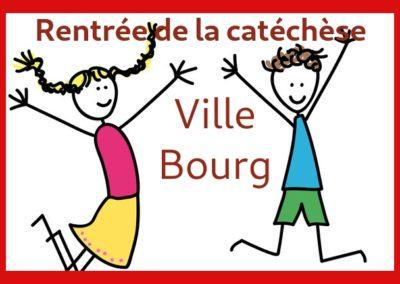 Démarrage catéchèse Ville-Bourg
