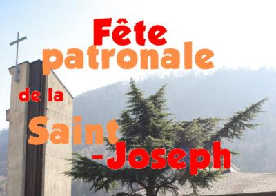 Fête patronale saint Joseph