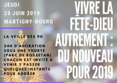 Fête Dieu 2019 au Bourg