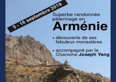 Info Pèlerinage en Arménie