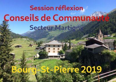 Session Conseils de Communauté