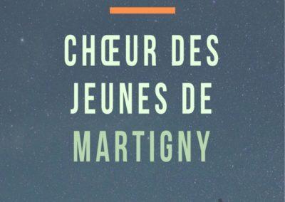 Lancement Choeur des Jeunes de Martigny