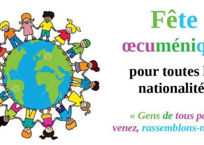 Fête oecuménique à l'occasion de la Journée des Migrants