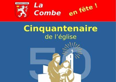 Cinquantenaire de l'église de La Croix