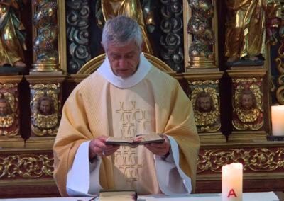 Messe dominicale à l'Evêché