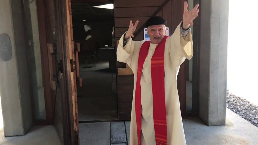Joyeuse reprise des messes à Martigny